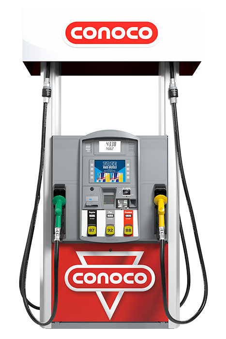 Conoco-Gilbarco-Dispenser