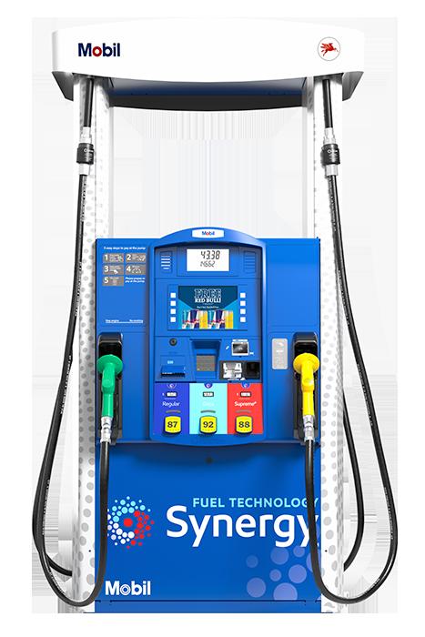 Mobil-Gilbarco-dispensers